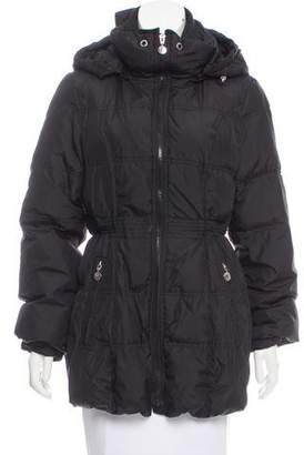 Betsey Johnson Hooded Down Coat