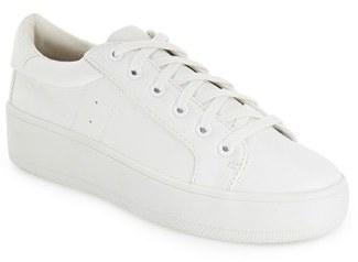 Women's Steve Madden 'Bertie' Lace-Up Sneaker $59.95 thestylecure.com