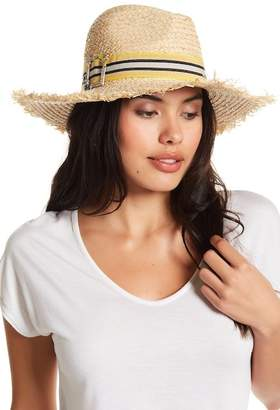 Steve Madden Straw Panama Hat