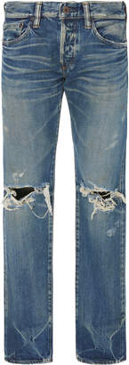 Simon Miller Skinny-Fit Distressed Jeans