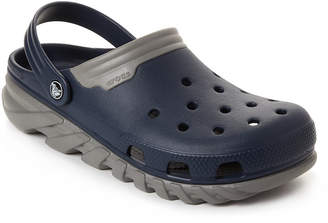 Crocs Navy & Smoke Duet Max Clogs