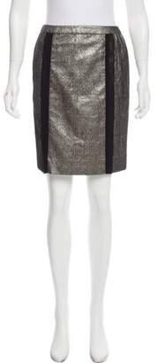Doo.Ri Metallic Pencil Skirt