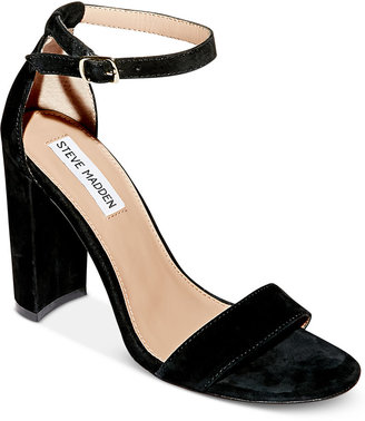 Steve Madden Women's Carrson Ankle-Strap Dress Sandals $99 thestylecure.com