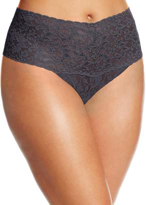 Hanky Panky Women's Plus-Size Retro Thong Panty