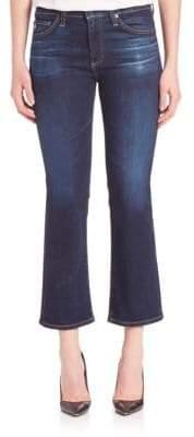 AG Jeans Jodi High Rise Flared Crop Jeans