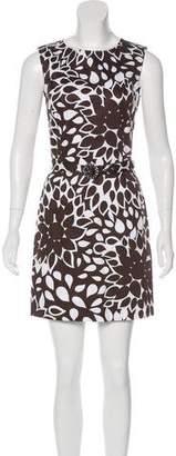Genny Belted Printed Dress