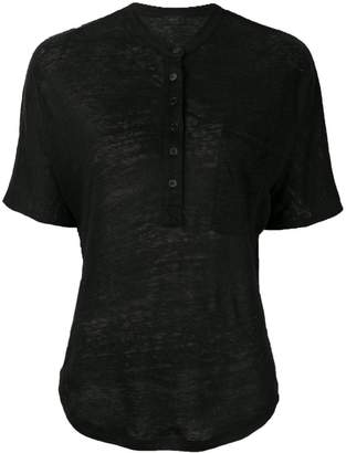 Joseph (ジョセフ) - Joseph フロントボタン Tシャツ