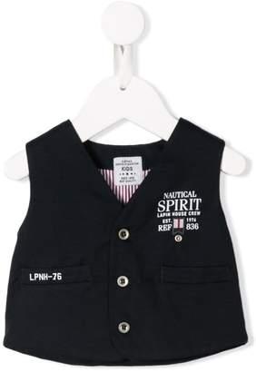 Lapin House logo print vest