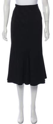 Rosetta Getty Flounce Midi Skirt