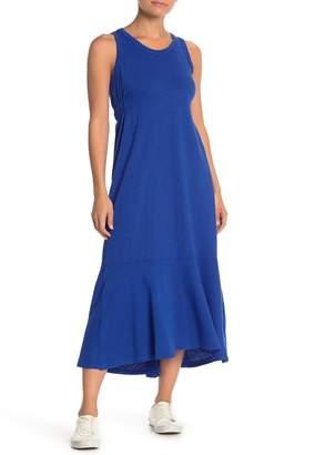 Splendid Solid High/Low Midi Dress