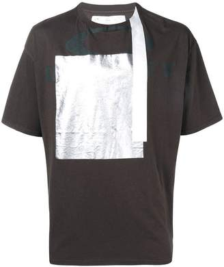 Oakley By Samuel Ross colour-block short sleeve T-shirt