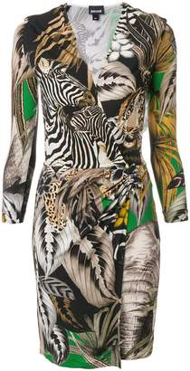 Just Cavalli zebra print dress