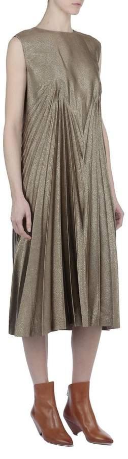 Plain Color Dress