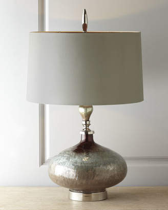 "John-Richard Collection Rainwater on Glass"" Table Lamp"