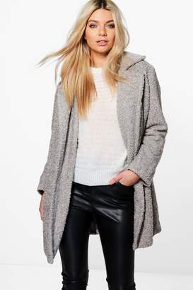 boohoo Louisa Boutique Teddy Faux Fur Chuck On Coat