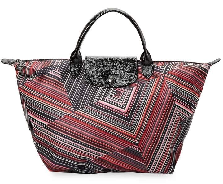 Longchamp Women's Geometric Print Tote