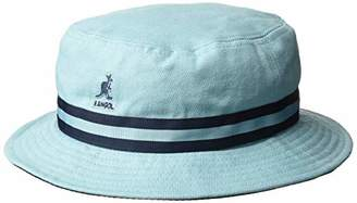 2ca39cb0152019 Kangol Stripe LAHINCH Bucket Hat (Light Blue Lb), Small (Manufacturer Size: