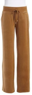 MICHAEL Michael Kors Velour Drawstring Pants