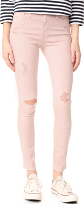 AG The Farrah Skinny Ankle Jeans $235 thestylecure.com