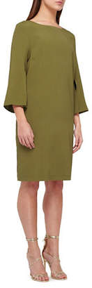 Jacques Vert Cuff Slit Shift Dress