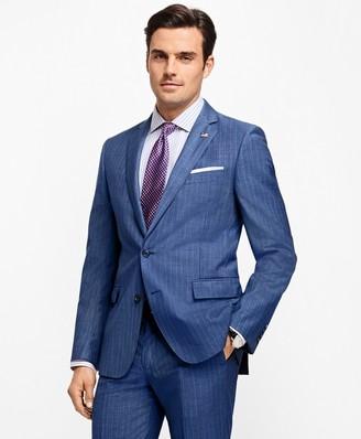 Brooks Brothers Regent Fit Stripe 1818 Suit