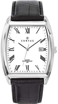 Certus Paris Men's 610949 Tonneau Dial Date Watch
