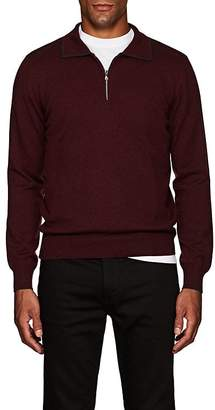Fioroni Men's Wool-Blend Quarter-Zip Sweater
