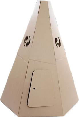 Kid-Eco Cardboard Toys Paperpod Teepee Brown