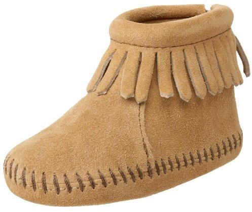 Minnetonka Vecro Back Flap Bootie (Infant/Toddler)