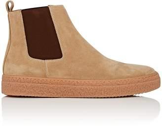 Barneys New York Men's Suede Chelsea Sneakers