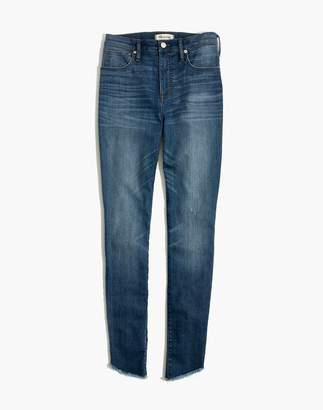 "Madewell 10"" High-Rise Skinny Jeans: Tulip-Hem Edition"