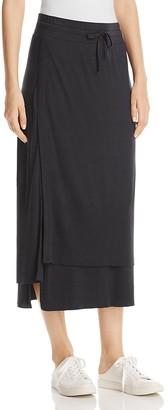DKNY Layered Midi Skirt $129 thestylecure.com