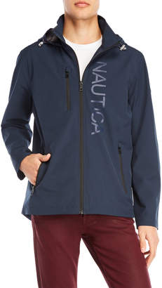 Nautica Hooded Rain Jacket