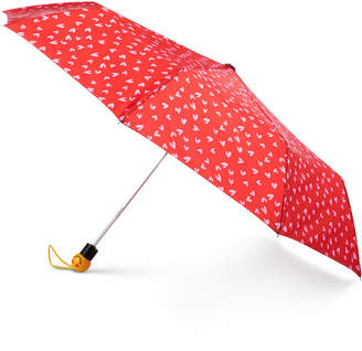 totes Auto-Open Umbrella with Emoji Face Handle