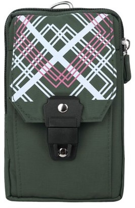SUMACLIFE Travel Friendly Nylon Zippered Pouch with Clip for Phones, Money, and Cameras