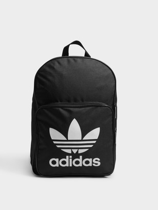 adidas Unisex Large Trefoil Logo Backpack in Black