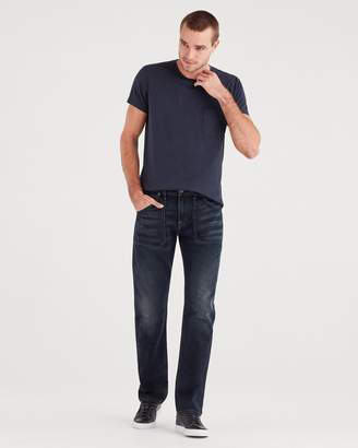 7 For All Mankind The Straight with Workwear Detail in Dark Terrain