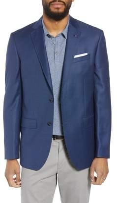 Ted Baker Jay Trim Fit Microdot Wool Sport Coat