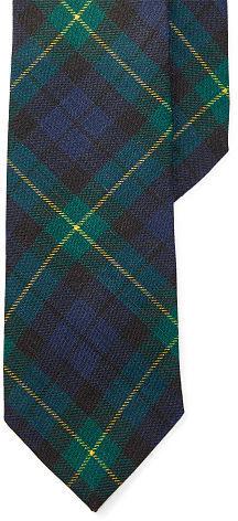 Polo Ralph LaurenPolo Ralph Lauren Tartan Linen Narrow Tie