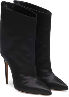 Alexandre Vauthier Alex Low satin ankle boots