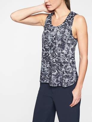Athleta Breezy Racerback Print