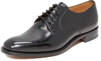 Loake L1 Polished Plain Toe Oxfords