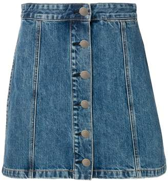 Rag & Bone denim mini skirt