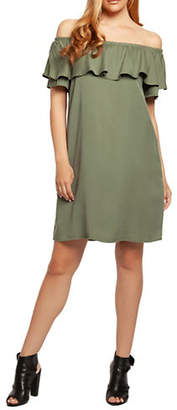 Dex Tiered Off-the-Shoulder Dress