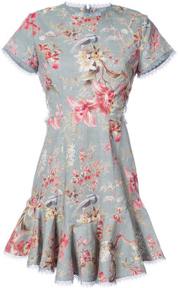 Zimmermann floral print ruffled dress $695 thestylecure.com