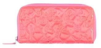Chanel Precious Symbols Zip Around Wallet