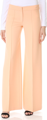 Milly Cady Flare Pants $345 thestylecure.com