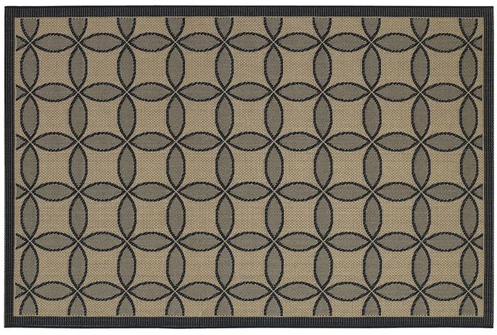 Couristan Couristan Five Seasons Retro Clover Trellis Indoor Outdoor Rug