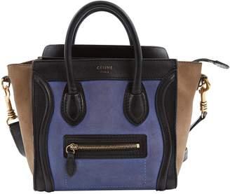 Celine Nano Luggage leather crossbody bag