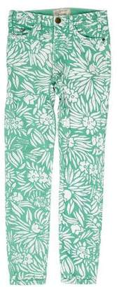DVF Loves Current/Elliott Mid-Rise Printed Jeans w/ Tags